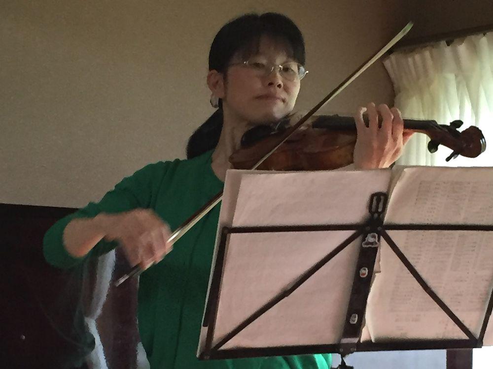 2016年5月11日宝町教室ホームコンサート1