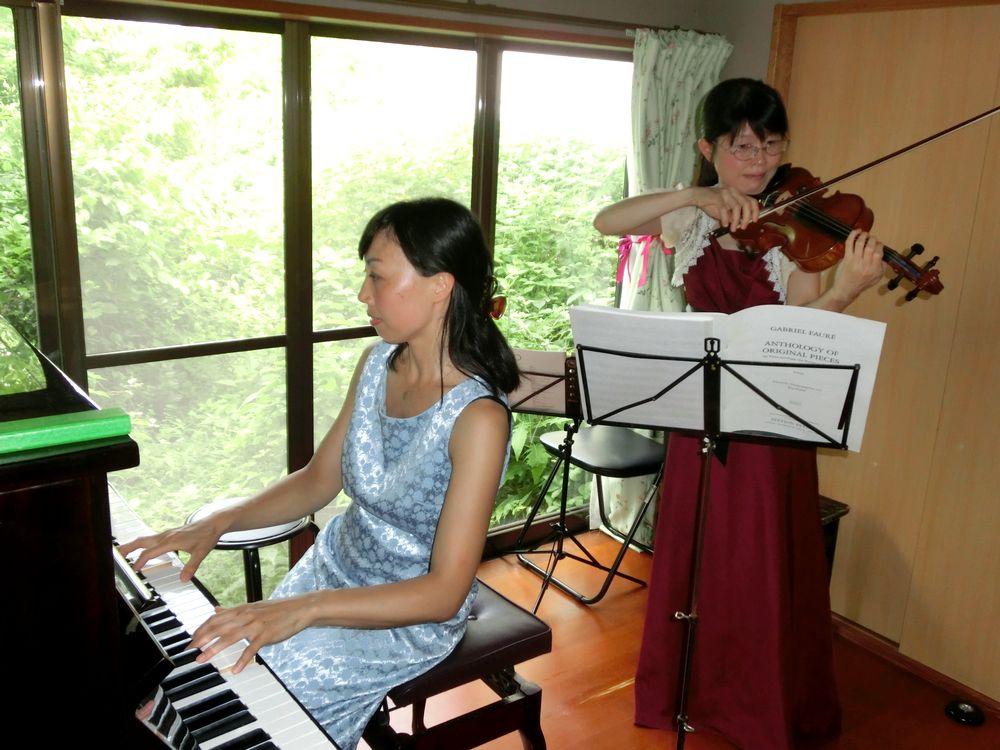 2016年7月23日宝町教室ホームコンサート1