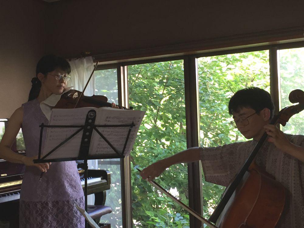 2016年8月17日宝町教室ホームコンサート