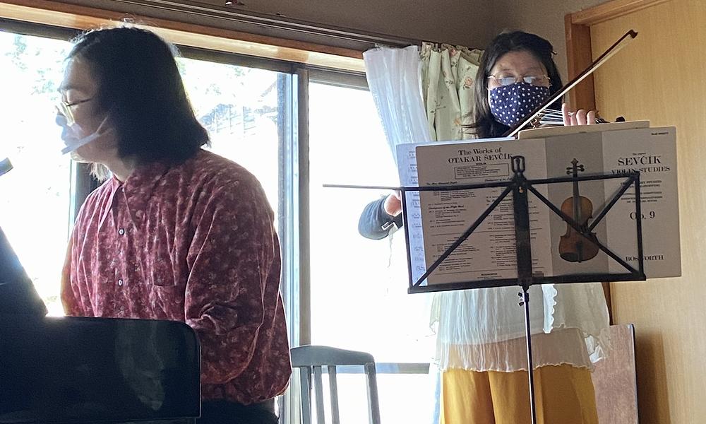 2021年2月28日宝町教室ホームコンサート