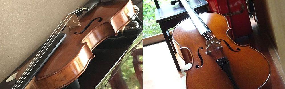 金沢市でバイオリン教室とチェロ教室を開いております